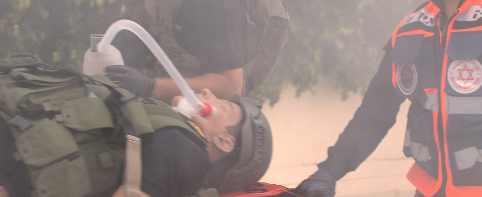 transporting intubated patient with EX Tube
