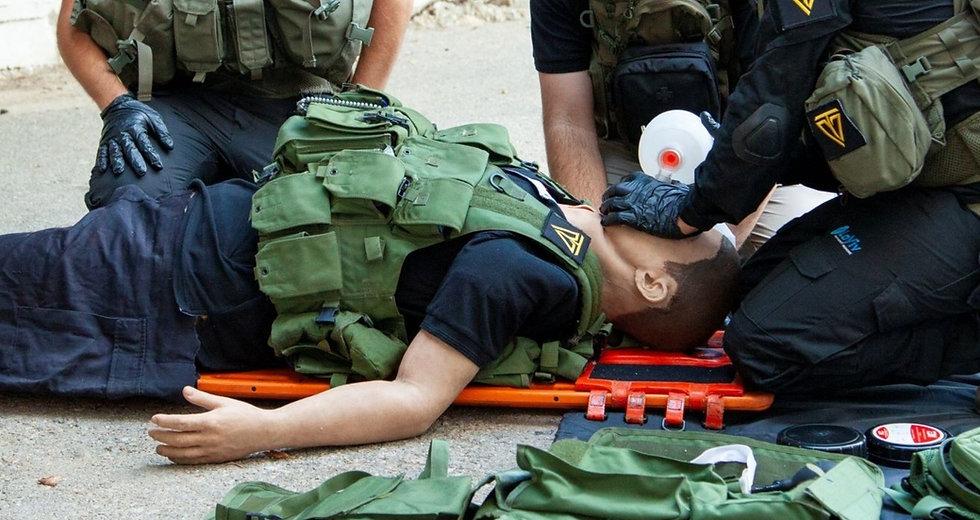 Pocket BVM used by paramedics