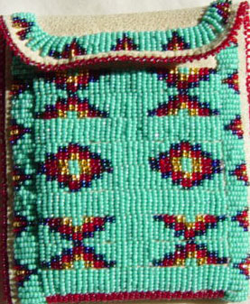 Beaded purse by Tilda