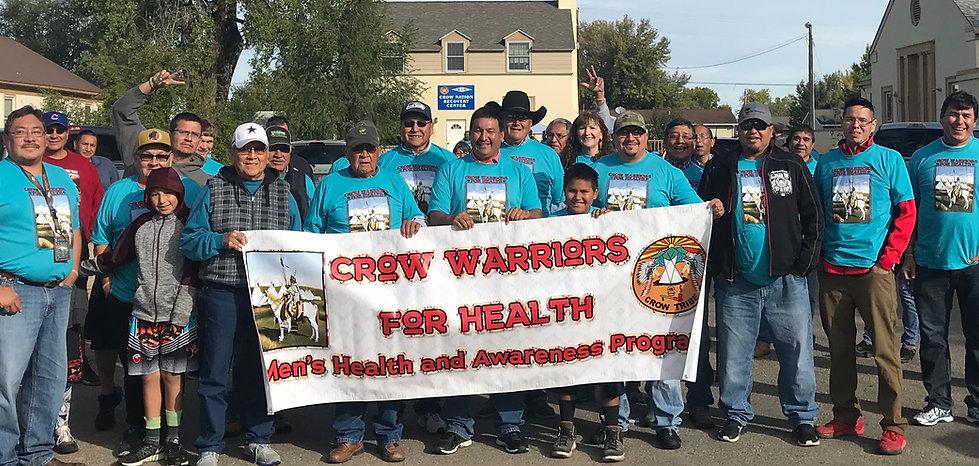 Crow Warriors for Health Men's Gathering