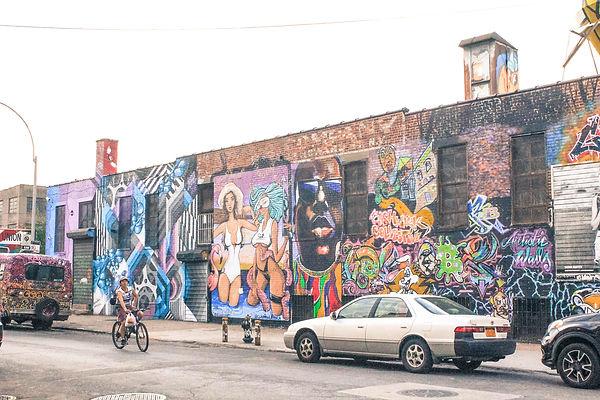 New-york Brooklyn Bushwick Street art Notorious Big