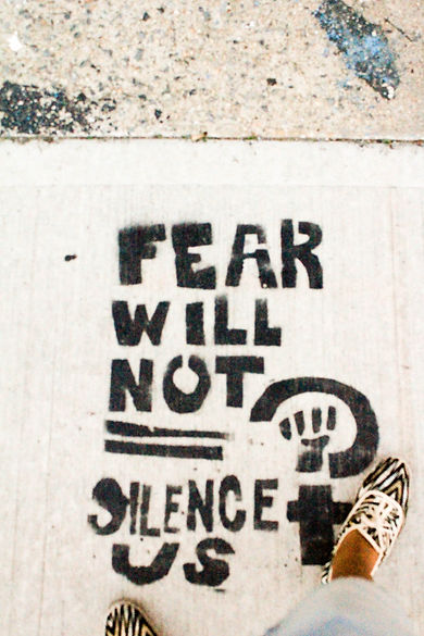 fear will not silent us new-york
