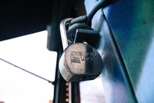 New-York padlock cadenas