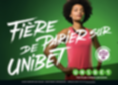 Philypa Phoenix unibet mannequin nappy afro model sport pari sportif