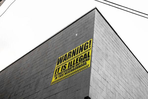 New-York Warning Bushwick Brooklyn Street Art