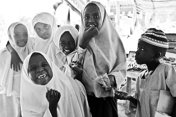Zanzibar Pajé kids black and white