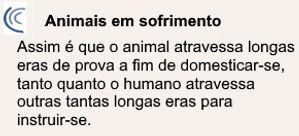 Emmanuel - Aulas da Vida - Animais em So