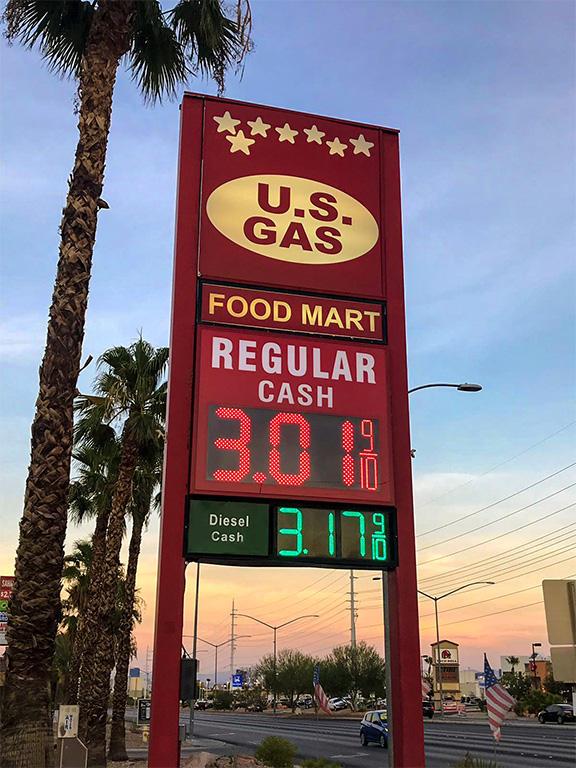 US GAS Las Vegas