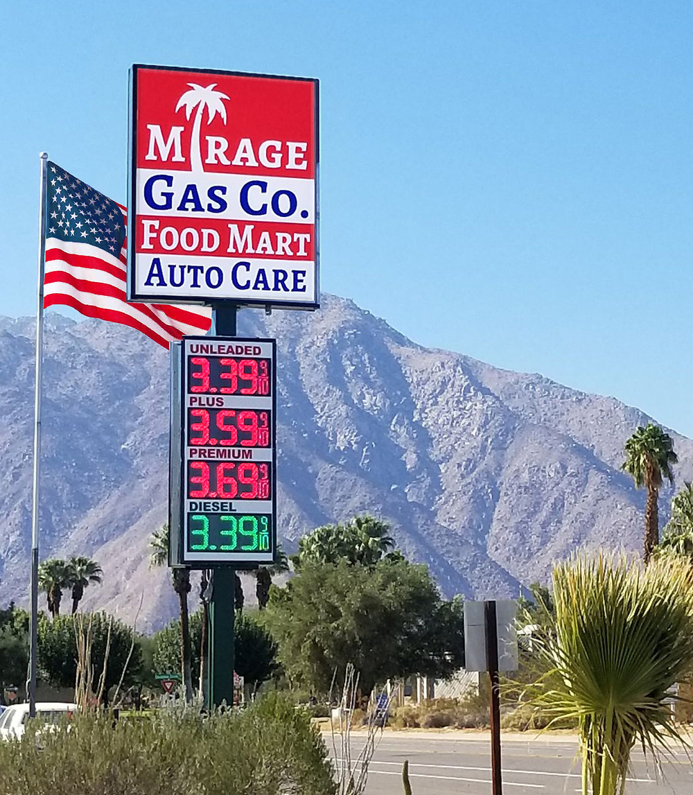 LED Gas Price Signs from Sorrento Tech