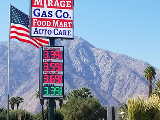 Mirage Gas Co. is latest gas station to see the benefits of switching to LED Gas Price Displays from