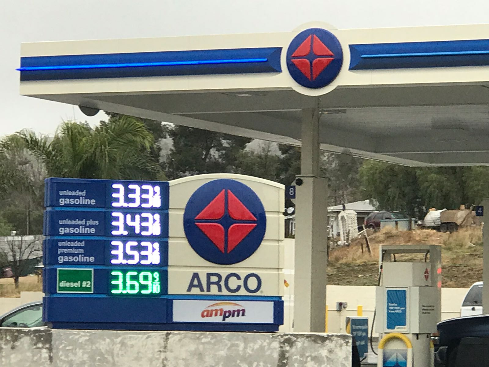 Arco Gas Prices >> Ampm Riverside