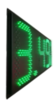 LED Gas Price Sign - Super Thin