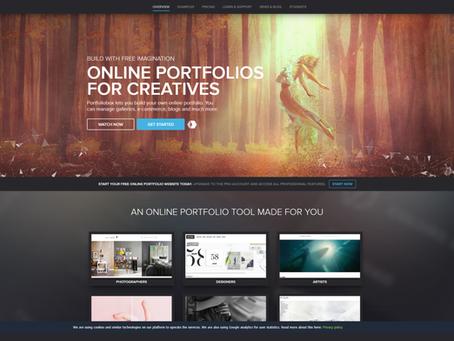 Portfolio สวยด้วยเว็บไซต์สร้าง Portfolio สุดปัง!