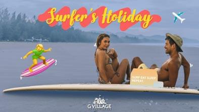 ชีวิตติดทะเลไปกับต๊ะแห่ง Surfer's Holiday