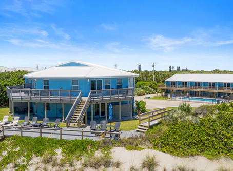 Blue View in Melbourne Beach, FL!
