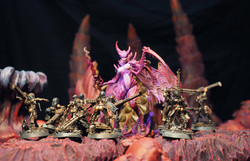 Models by Wargame Exclusive and Creature Caster
