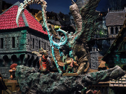 Models by Avatars of War and Creature Caster, Buildings from Zealot Miniatures by Tabletop World