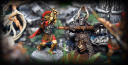 Megalith Games (left) Avatars of War (right)