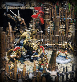 Models by Megalith Games, Arena by Printable Scenery
