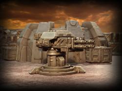Gun Turret and Crates by Orakio's Studio, Buildings by Micro Art Studio