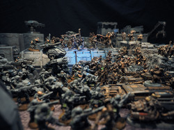 Models by Wargame Exclusive and Puppetswar, Buildings by Micro Art Studio