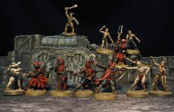 Models by Gary Hunt Miniatures, Buildings by Micro Art Studio