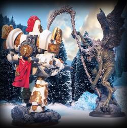 Scibor Miniatures (left) and Creature Caster (right)