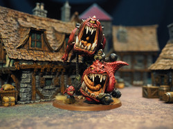 Models by Gork's Sculpts, Buildings from Zealot Miniatures by Tabletop World