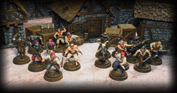 Models by Firelock Games, Buildings and Scenery by Zealot Miniatures