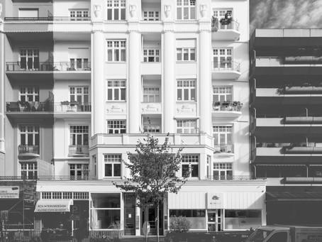 Der blomearchitektur Standort-Status