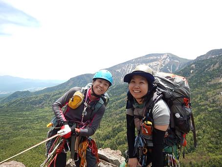 八ヶ岳稲子岳南壁左カンテルート