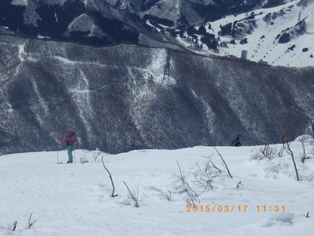 上越 平標バックカントリースキー