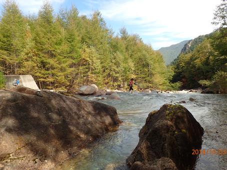 小川山 左稜線