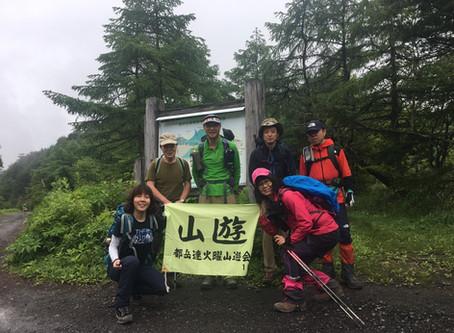 上信越 籠ノ登山 2019.7.9 会山行(尾根組)
