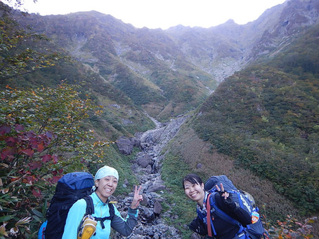 谷川岳 マチガ沢 2019.10.10