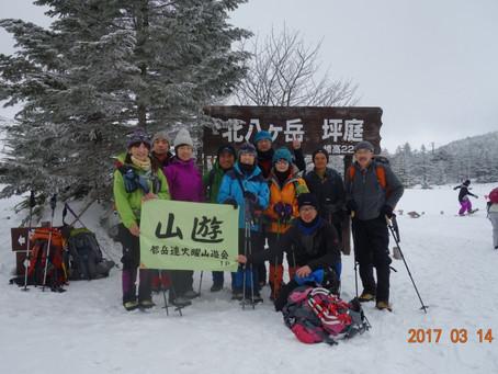八ヶ岳 北横岳 会山行