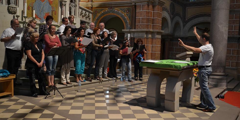 Öffentliche Gesamtchorprobe in St. Martin (2)