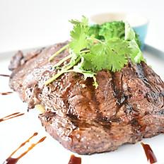 B.B.Q. Rib Eye Beef Steak