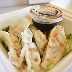 Chicken Dumplings (Gyoza)