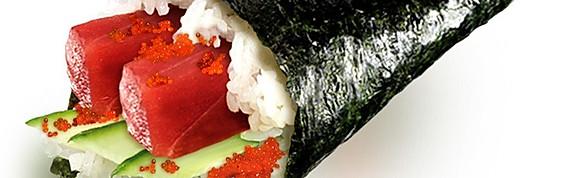 Temaki Hand Rolls (2 rolls/order)