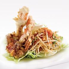Soft Shell Crab Papaya Salad