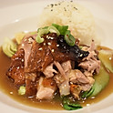 BBQ Duck over Rice