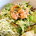 Salmon Poke Salad Bowl