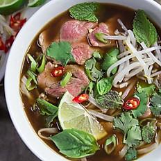 New! Vietnamese Beef Pho