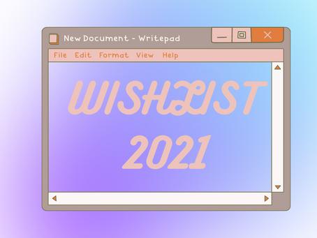 WishList: produtos que quero testar em 2021