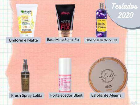 Melhores produtos: testados 2020