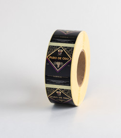 Etiqueta Puro de Oro Sabogal Ychiformas