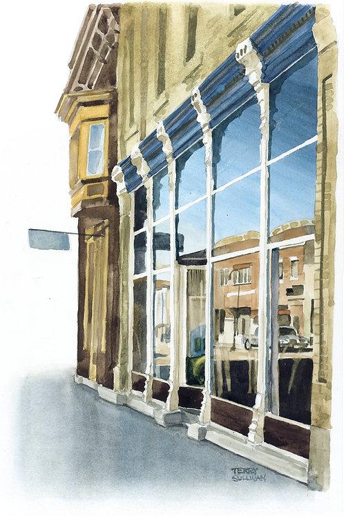 Sauk Prairie Reflections Original Watercolor Painting