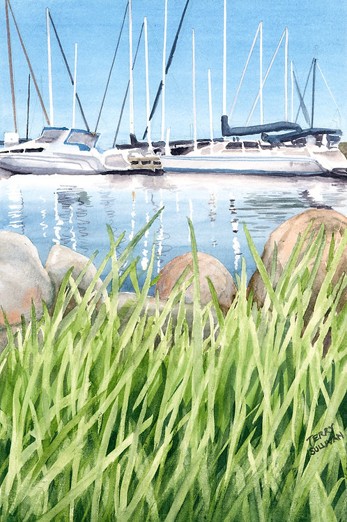 Bayfield Harbor (Limited Edition Giclée Print)
