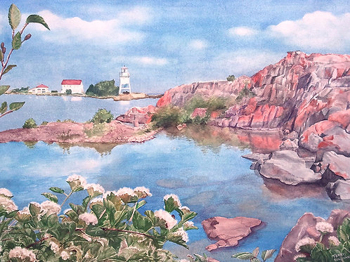 Grand Marais (Limited Edition Giclée Print) Reduced Size